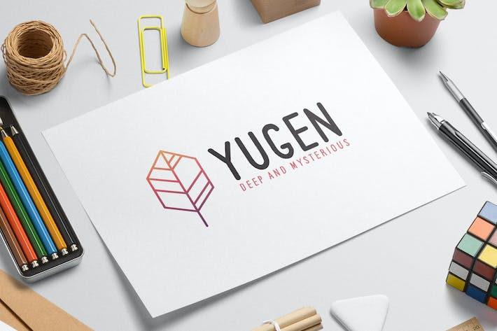 Thumbnail for Yugen logo template