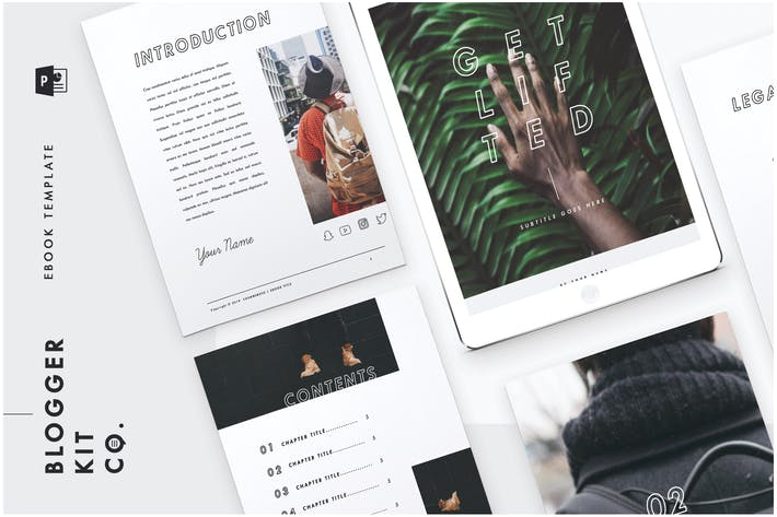 Thumbnail for eBook Template | 28 Pages| PowerPoint