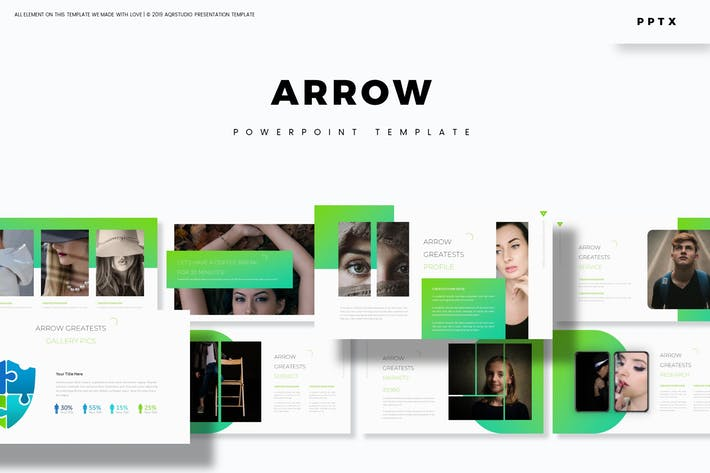 Arrow - Powerpoint Template