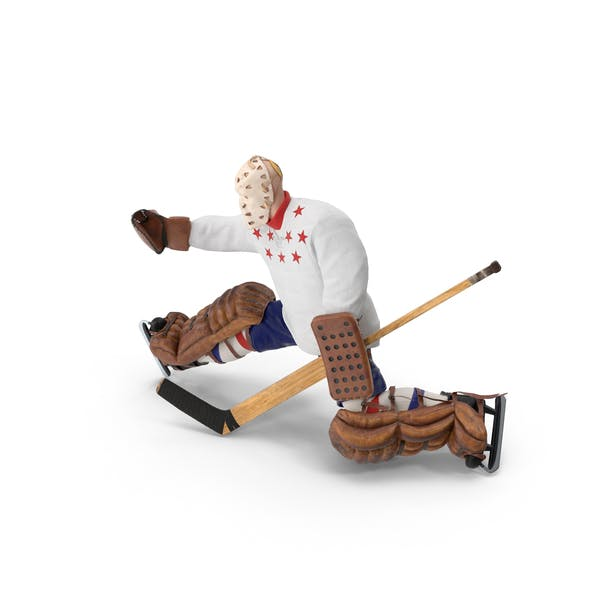 Thumbnail for Ice Hockey Goalie Catching Pose