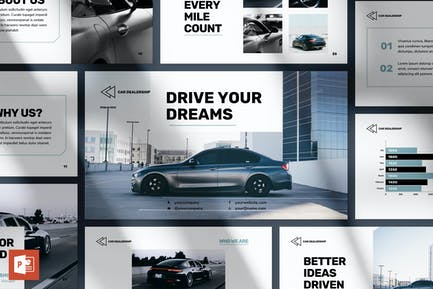 Car Dealership PowerPoint Presentation Template