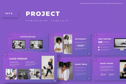 Project - Powerpoint Template