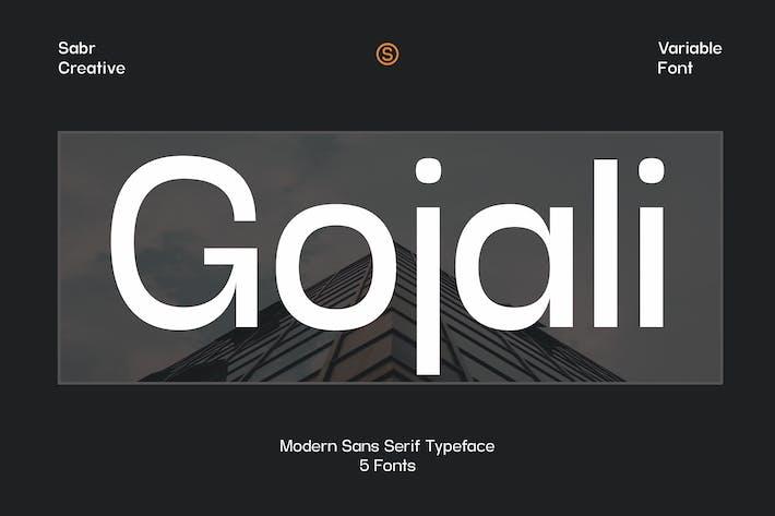 Gojali - Variable Font
