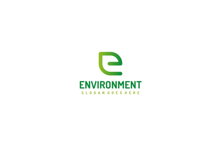 Thumbnail for E Letter- Nature Logo