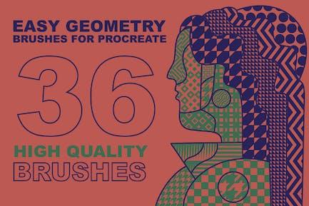 кисти Procreate «Easy Geometry»