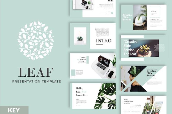 Thumbnail for Шаблон Keynote бизнес-LEAF - LS