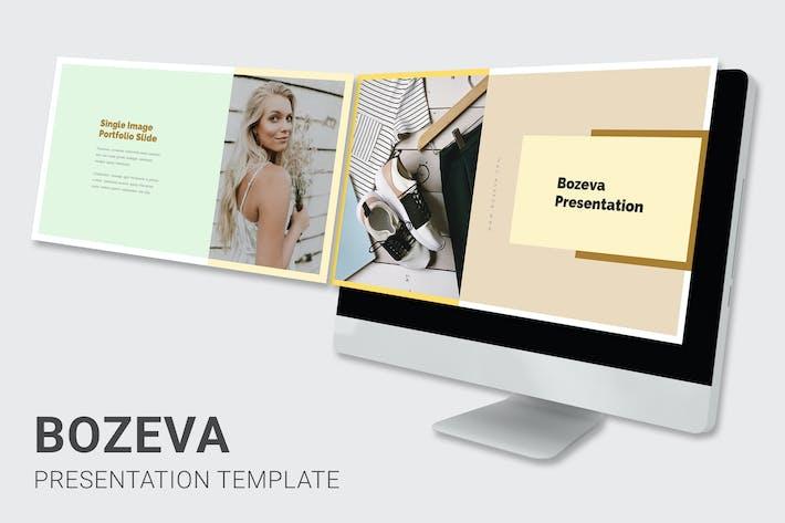 Thumbnail for Bozeva - Lifestyle Look Book Google Slides