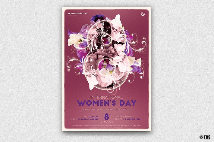 Thumbnail for Womens Day Flyer Template V1