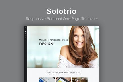 Solotrio - Responsive Personal One-Page Template