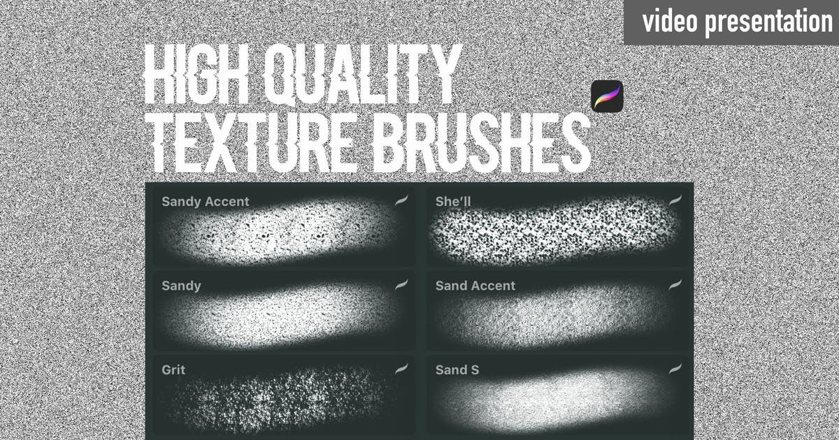 Download Procreate texture brushes.Sand by a_slowik
