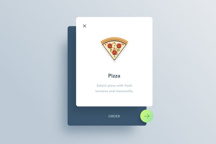 Thumbnail for Food Ordering Small Widget