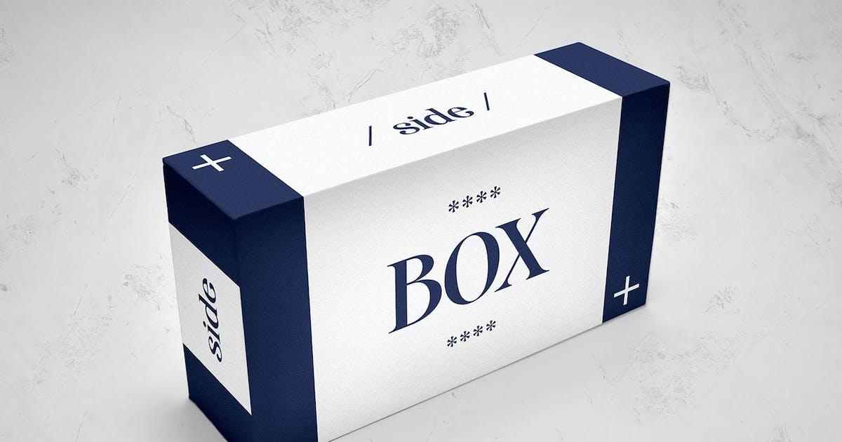 Download Box Mockup by Morad