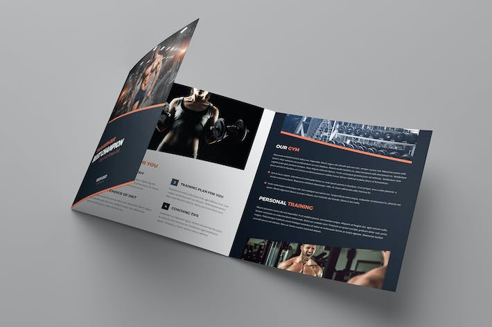Brochure – Gym Tri-Fold Square