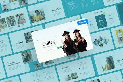 Colleg - Education Keynote Presentation
