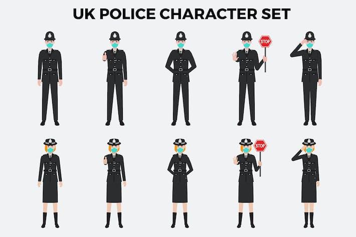 Thumbnail for UK Police Character Set – Illustrations