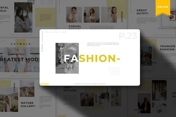 Fashion | Google Slides Template
