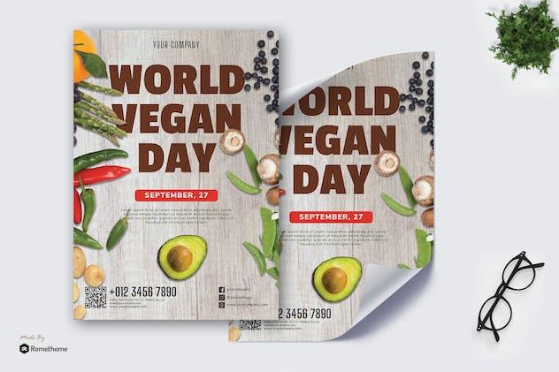 World Vegan Day vol.01 - Poster RB