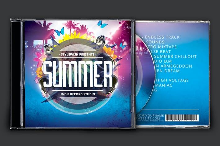 Cover Image For Summer CD Cover Artwork