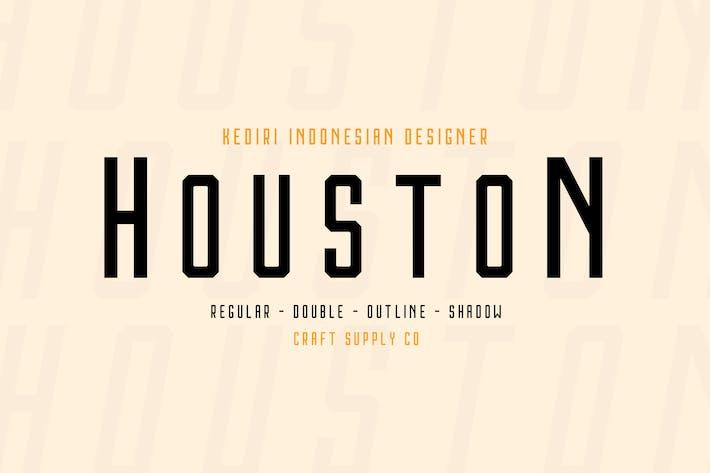 Thumbnail for Houston Font Family