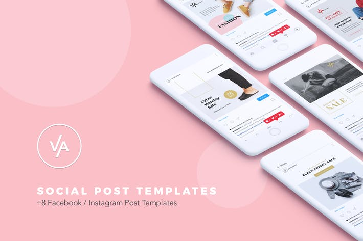 Thumbnail for Modern Social Media Kit Vol. 01