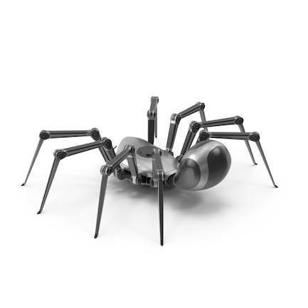 Roboter Spider Metall Schwarz