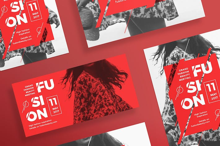 Thumbnail for Fashion Meeting Flyer Template