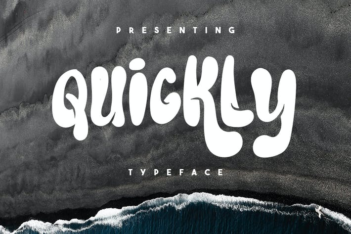 Cover Image For Quickly Typeface