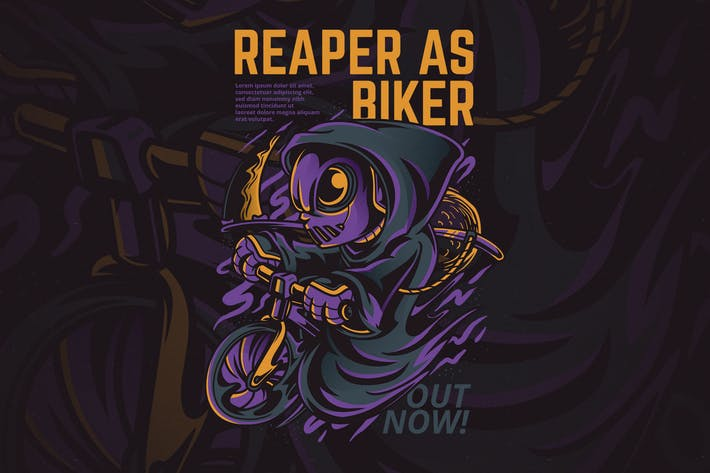 Thumbnail for Reaper as Biker
