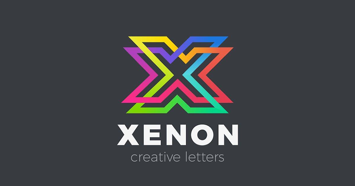 Download Letter X Logo design Linear Infinite by Sentavio