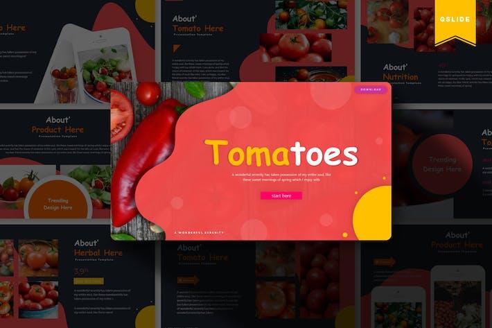 Thumbnail for Tomatoes | Google Slides Template