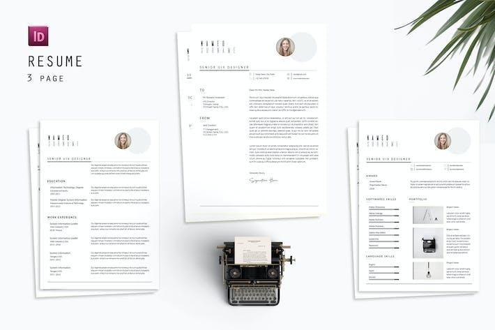 Senior UIX Resume Designer