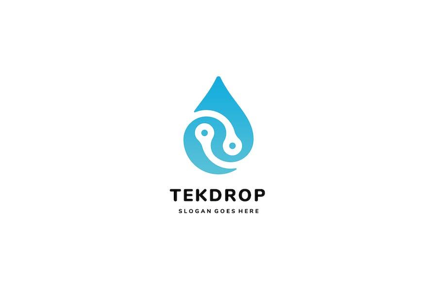 Tech Drop Logo