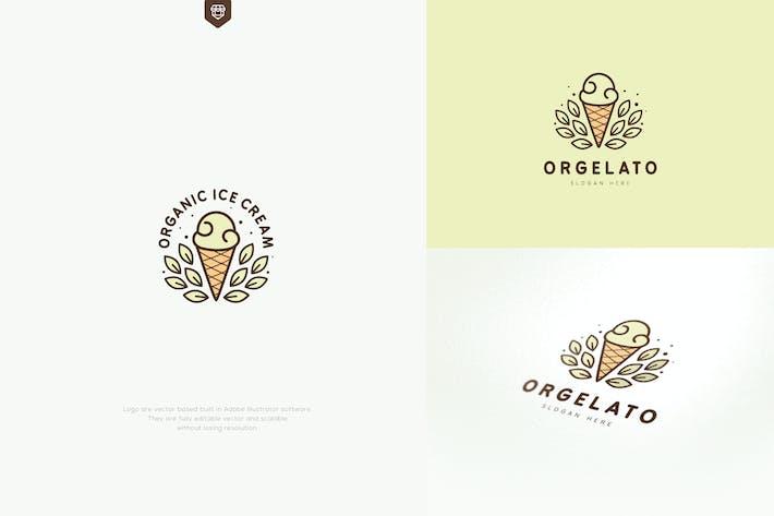 Thumbnail for Organic Ice Cream Logo