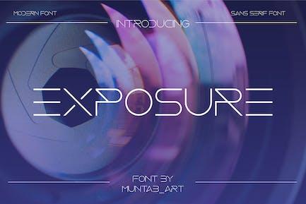 Exposición | Modern Sans