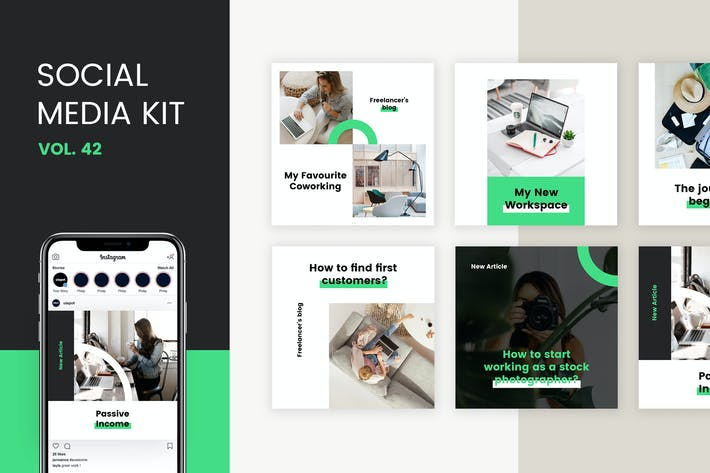 Thumbnail for Social Media Kit (Vol.42)