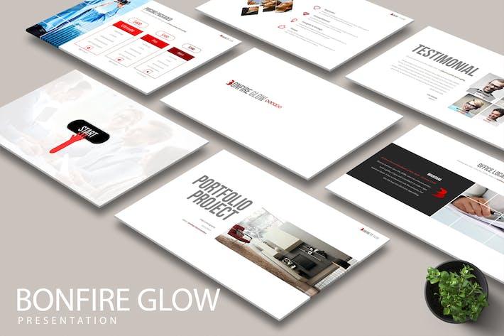 Thumbnail for BONFIRE GLOW Powerpoint