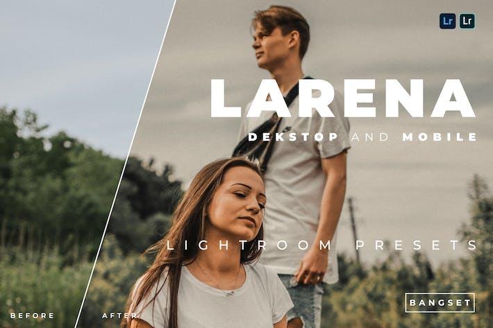 Предустановка Lightroom для настольных ПК и мобильных устройств Larena