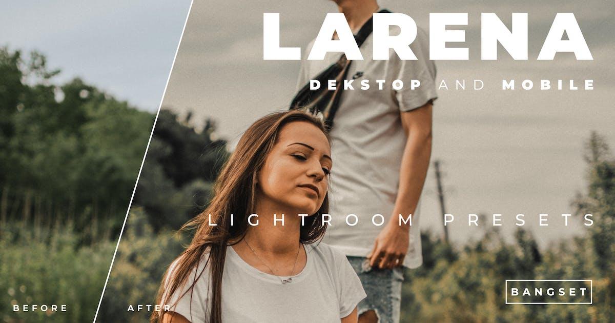 Download Larena Desktop and Mobile Lightroom Preset by Bangset