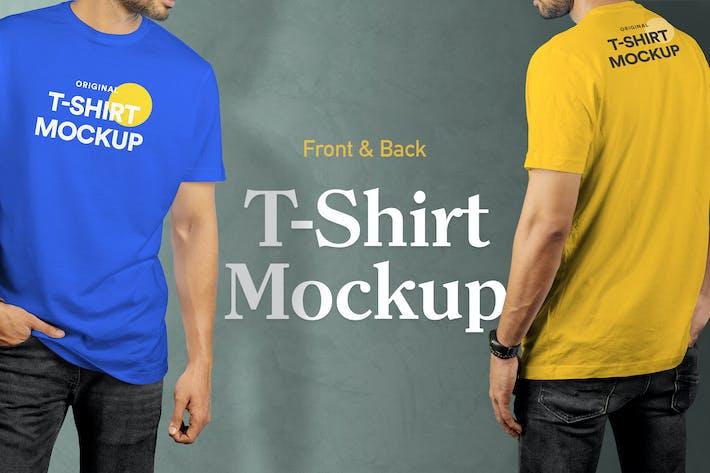 Thumbnail for T-Shirt Mockup Vol 17