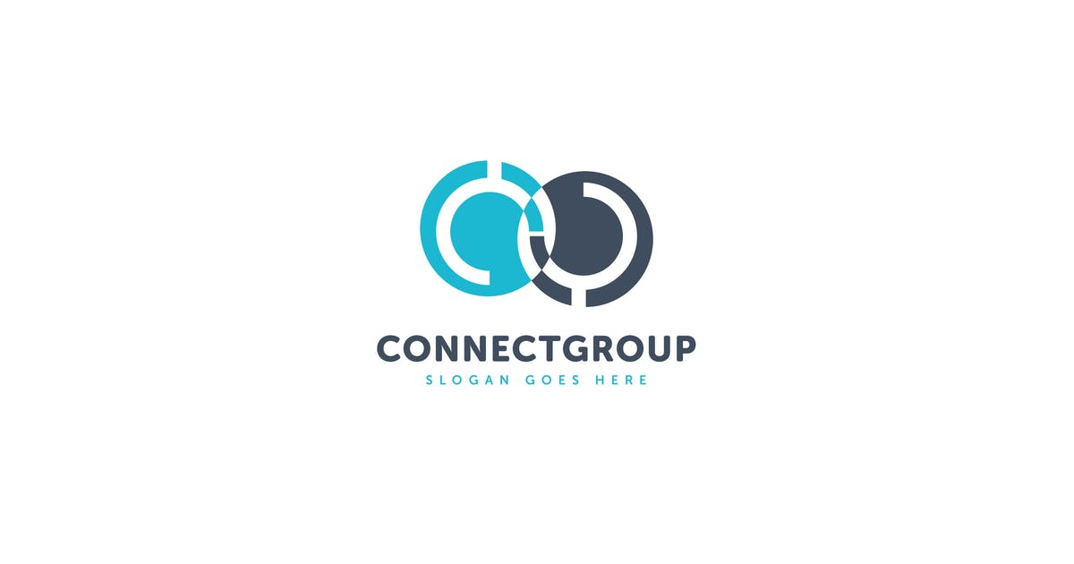 Download Connect Group Logo Vector Template by Pixasquare