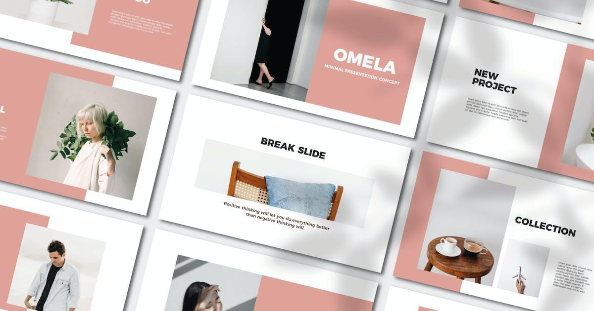 Download Omela Powerpoint Template by axelartstudio