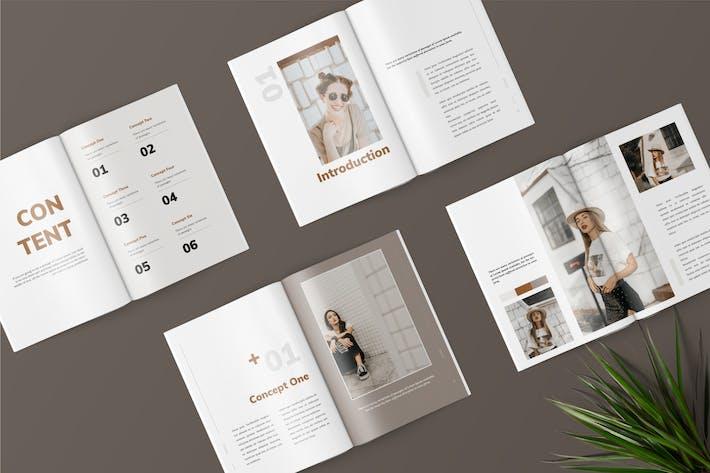 Thumbnail for Kimme - Fashion Magazine Template