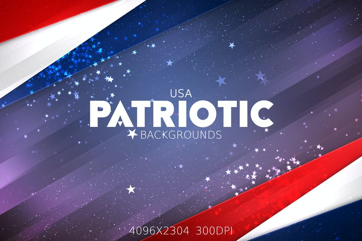Thumbnail for USA Patriotic Backgrounds