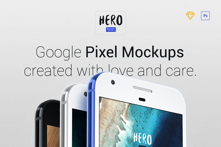 Thumbnail for HERO Pixel Mockups