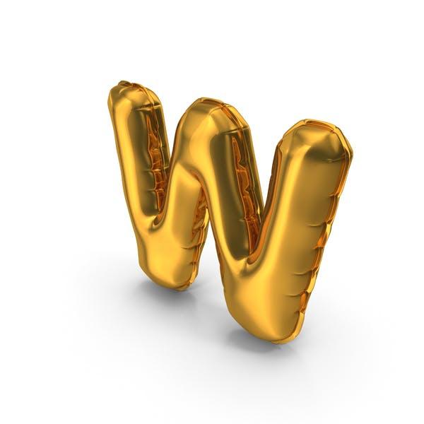 Thumbnail for Balloons Alphabet Letter W