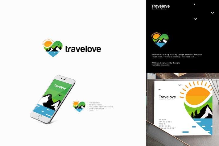 Cover Image For Travel Love Logo