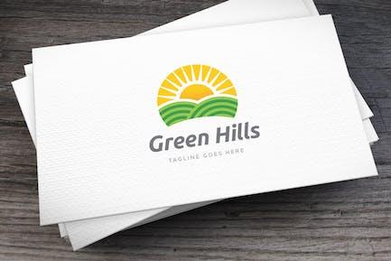 Green Hills Logo Template