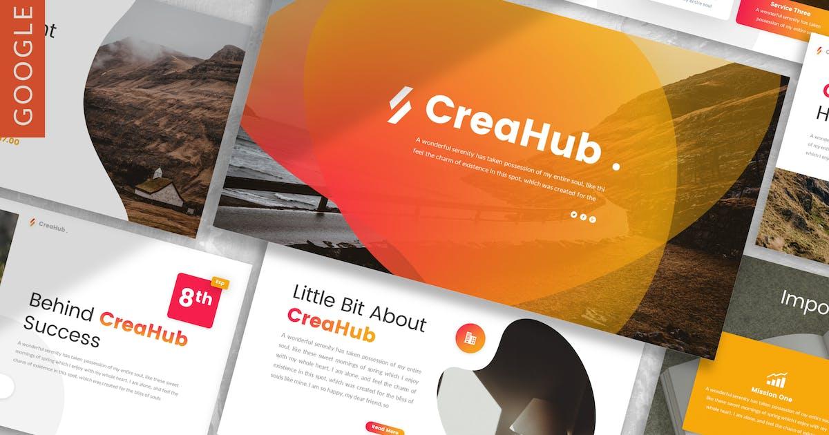 Download CreaHub - Business Google Slide Template by designesto