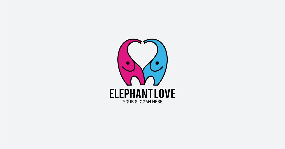 Download elephant love by shazidesigns