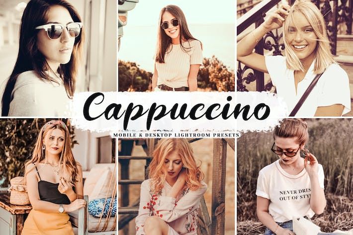 Thumbnail for Cappuccino Mobile & Desktop Lightroom Presets